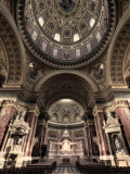 Hungary, Budapest, St; Stephen Cathedral (Szent Istvan Bazilika) Photographic Print by Michele Falzone