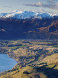 The Remarkables Ski Field Towards Arrowtown, Queenstown, Central Otago, South Island, New Zealand Photographic Print by Doug Pearson