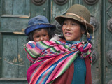 Peru, a Young Peruvian Girl Reprodukcja zdjęcia autor Nigel Pavitt
