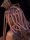 Himba Woman, Kaokoland, Namibia Photographic Print by Peter Adams