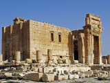 Syria, Palmyra; the Temple of Bel Photographic Print by Nick Laing