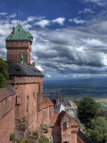 Haut-Koenigsbourg Castle, Orschwiller, Alsace, France Photographic Print by Ivan Vdovin