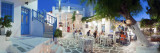 Restaurants in the Old Town, Mykonos (Hora), Cyclades Islands, Greece, Europe Photographic Print by Gavin Hellier