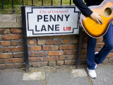 England, Liverpool, Penny Lane, Immortalized by Paul Mccartney Photographic Print by Carlos Sanchez Pereyra
