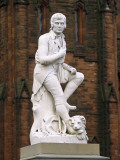 Statue of Robert Burns, Dumfries, South West Scotland Photographie par Paul Harris