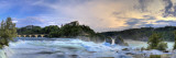 Switzerland, Schaffhausen, Rhine Falls / Rheinfall (Europe Largest) and Laufen Castle Photographic Print by Michele Falzone
