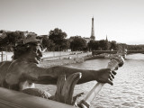 Pont Alexandre Iii and Eiffel Tower, Paris, France Photographic Print by Jon Arnold