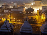 Nepal, Kathmandu, Pashupatinath Temple on the Banks of the Bagmati River Photographic Print by Mark Hannaford