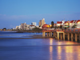 Summerstrand Beachfront at Dusk, Port Elizabeth, Eastern Cape, South Africa Photographic Print by Ian Trower