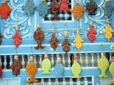 Tunisia, Tunis, Sidi-Bou-Said; Tourist Souvenirs Photographic Print by Nick Laing