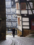 Street in the Downtown of Marburg, Hessen, Germany Photographic Print by Carlos Sanchez Pereyra