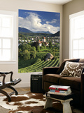 Switzerland, Bernese Oberland, Lake Thun, Spiez Castle Wall Mural by Michele Falzone