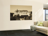 Germany, Saxony, Colditz Castle, Site of Famous Ww2 Pow Prison Camp Wall Mural by Walter Bibikow