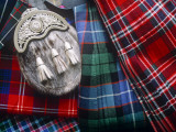Clan Tartans, Inverness, Scotland Photographie par Paul Harris