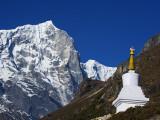 Nepal, Himalayas, Sagarmatha National Park, Solu Khumbu Everest Region, Thame, Chorten Photographic Print by Christian Kober