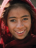 Indian Girl, State of Rajasthan, India Photographic Print by Paul Harris