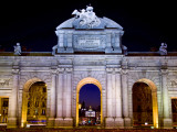 Puerta De Alcala on the Plaza De Independencia in Madrid, Spain Photographic Print by Carlos Sanchez Pereyra