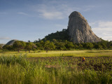 Mozambique, Near Nampula; the Stunning Landscape of Northern Mozambique Early in the Morning Fotografie-Druck von Niels Van Gijn