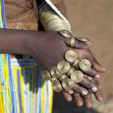 Balangida Lelu, Northern Tanzania;The Finery of a Datoga Woman; Photographic Print by Nigel Pavitt