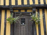 England, Shropshire, Ludlow; an Ancient Half-Timbered House in the Market Town of Ludlow Photographic Print by Katie Garrod