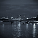 Waterloo Bridge and River Thames, London, England Photographic Print by Jon Arnold