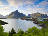 Reine, Moskenesoy, Lofoten, Nordland, Norway Photographic Print by Doug Pearson
