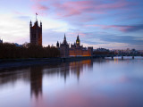 Uk, London, Big Ben and Houses of Parliament Photographic Print by Alan Copson