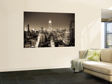 Usa, New York, Manhattan, Midtown, Empire State Building Wall Mural by Alan Copson