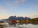 The Old Trading Centre of Kjerringoy, Nordland, Norway Photographic Print by Doug Pearson
