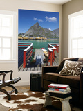 The Picturesque Fishing Village of Sakrisoy, Moskenesoy, Lofoten, Nordland, Norway Wall Mural by Doug Pearson