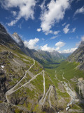 Trollstigen (The Troll Ladder), More Og Romsdal, Romsdal, Norway Photographic Print by Doug Pearson
