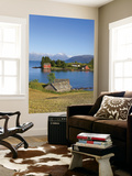 An Idyllic Rural Island in the Hardanger Fjord, Hordaland, Norway Wall Mural by Doug Pearson