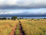 Landscape, Murchison Falls National Park, Uganda, East Africa Fotografisk tryk af Ivan Vdovin