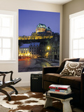 Chateau Frontenac, Quebec City, Quebec, Canada Wall Mural by Demetrio Carrasco