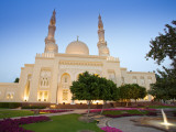 Jumeirah Mosque at Dusk, Dubai, United Arab Emirates Photographic Print by Neil Farrin