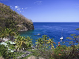 Caribbean, St Lucia, Anse Chastanet Beach Photographic Print by Michele Falzone