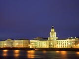 Russia, St; Petersburg; the Neva River Photographic Print by Ken Sciclina