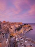 Malta, Valletta, City View from Upper Barrakka Gardens Photographic Print by Walter Bibikow