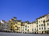 Piazza Del Anfiteatro Square, Amphitheatre, Lucca, Tuscany, Italy Photographic Print by Carlos Sanchez Pereyra