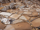 Peru, the Ancient Saltpans of Salinas Near Maras Photographic Print by Nigel Pavitt