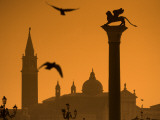Italy, Veneto, Venice; San Giorgio Maggiore Photographic Print by Ken Sciclina