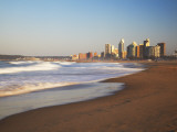 Durban Skyline and Beachfront, Kwazulu-Natal, South Africa Photographic Print by Ian Trower