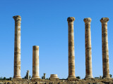Libya, Sabratha; Columns Photographic Print by Nick Laing