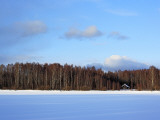 Winter Landscape, Suda, Vologda Region, Russia Photographic Print by Ivan Vdovin