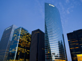 View of La Defense, the Main Business District of Paris, France Photographic Print by Carlos Sanchez Pereyra
