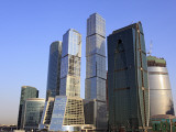 Moscow International Business Center (Moscow-City), Moscow, Russia Photographic Print by Ivan Vdovin
