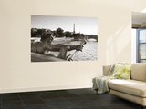 Pont Alexandre Iii and Eiffel Tower, Paris, France Wall Mural by Jon Arnold