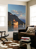 Switzerland, Vaud, Montreaux, Chateau De Chillon and Lake Geneva (Lac Leman) Wall Mural by Michele Falzone