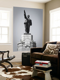 Russia, the Golden Ring, Kostroma, Lenin Statue Wall Mural by Jane Sweeney