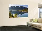 Fishing Boats in Fjord, Austnesfjorden, Vagan, Lofoten, Nordland, Norway Wall Mural by Doug Pearson